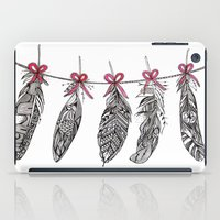 Feather Bunting iPad Case