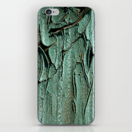 Green Rubber iPhone & iPod Skin