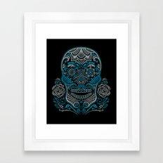 Magic Sugar Skull Framed Art Print