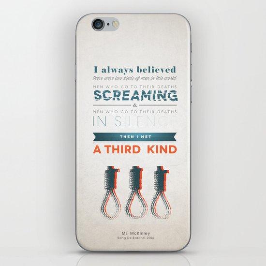 The Third Kind iPhone & iPod Skin