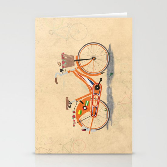 Love Holland, Love Bike Stationery Card