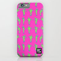 Rocksteady Man - Pink iPhone 6 Slim Case