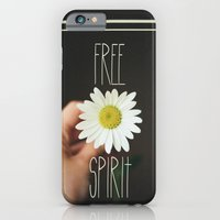 iPhone & iPod Case featuring Free Spirit by Valerie Bee