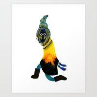 Inuit Spirit Art Print