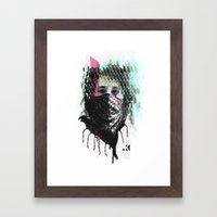 RIOT girl Framed Art Print