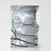 winter canopy Stationery Cards