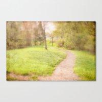 Winding Pathway Canvas Print