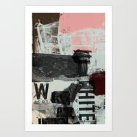 Three Things Art Print