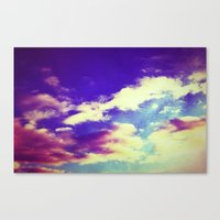 Cluster of Clouds Canvas Print