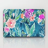 PARADISE FLORAL - NAVY iPad Case