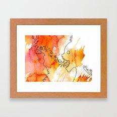 Vibrant Exuberance Framed Art Print