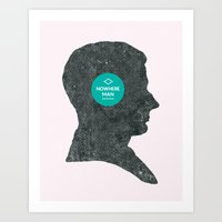 Nowhere Man. Art Print