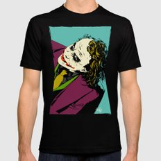 Joker So Serious SMALL Mens Fitted Tee Black