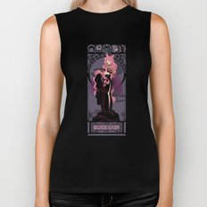 Black Lady Nouveau - Sailor Moon Biker Tank
