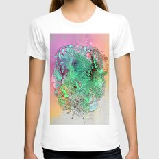 things Womens Fitted Tee White SMALL