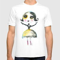 FIRST COCOTTE Mens Fitted Tee White SMALL