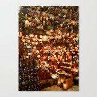 Istanbul Lights Canvas Print