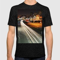 Pike Nights.... You And … Mens Fitted Tee Tri-Black SMALL