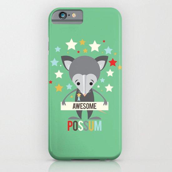 Awesome Possum iPhone & iPod Case