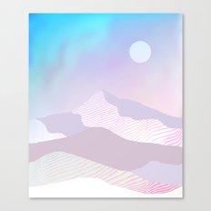 Dune Moon Canvas Print