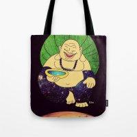 Total Peace Buddha Tote Bag