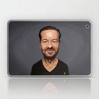 Celebrity Sunday ~ Ricky Gervais Laptop & iPad Skin