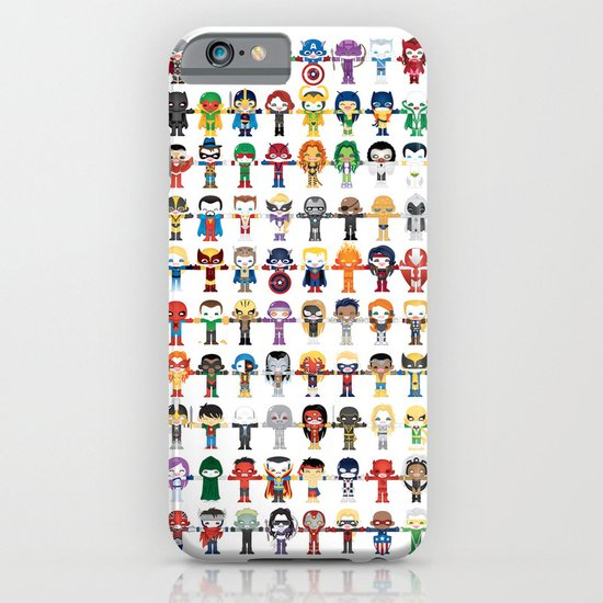 THE ULTIMATE 'AVENGER'S' ROBOTIC COLLECTION iPhone & iPod Case