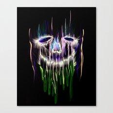 Face Illustration 4 Canvas Print