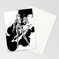 Lady Knight Stationery Cards