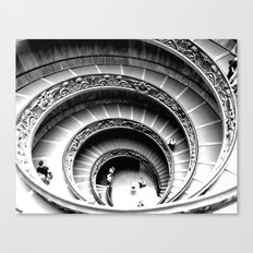 Spiral Staircase, Vatican Museum Canvas Print