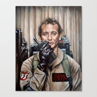 Bill Murray / Ghostbusters / Peter Venkman Canvas Print