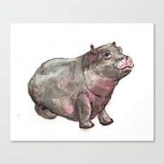 Hippo Lumpkin Canvas Print