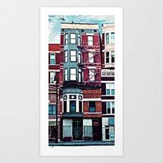 18th Street Art Print