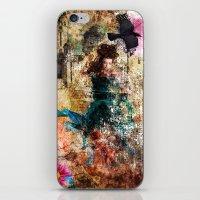 Fairy Painting iPhone & iPod Skin
