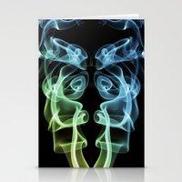 Smoke Photography #8 Stationery Cards