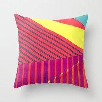 Malibu Mermaid Throw Pillow
