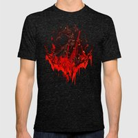 Werewolf Mens Fitted Tee Tri-Black SMALL