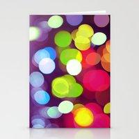 Light Dots Stationery Cards