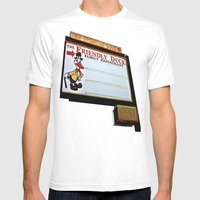 Friendly Duck Mens Fitted Tee White SMALL