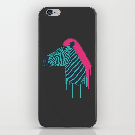 Zebra's Not Dead iPhone & iPod Skin