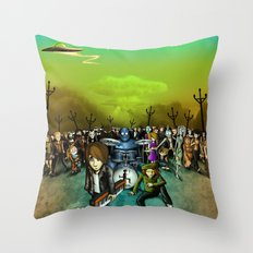 We Are Robots Throw Pillow