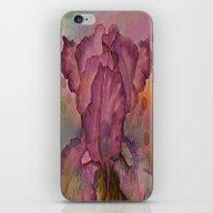 Deep Pink Watercolor Iri… iPhone & iPod Skin