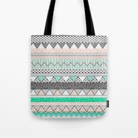 CHEVRON MOTIF Tote Bag