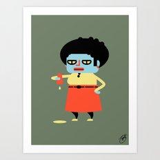 Doris Art Print