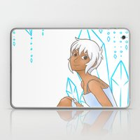 Isabelle and crystals Laptop & iPad Skin