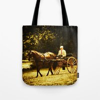 A Gentleman's Ride Tote Bag