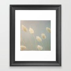 Beach florals Framed Art Print