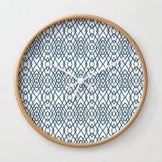 Web Navy Wall Clock