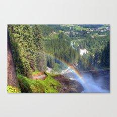 Summer trip to Krimml, Austria Canvas Print