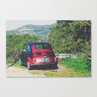Italy- Umbria-Assisi Canvas Print